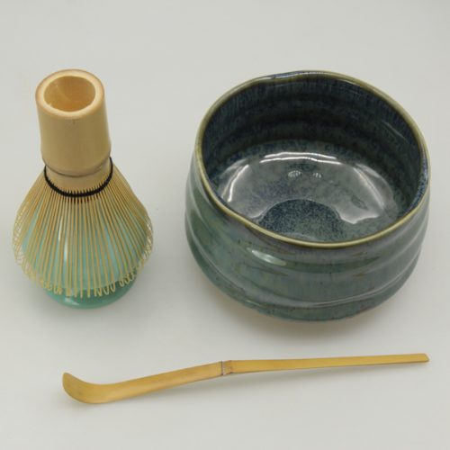 matcha bowl spoon and whisk