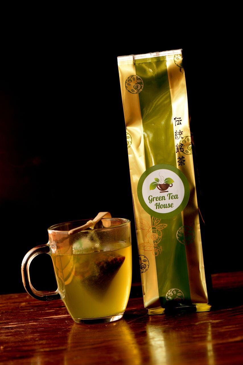 matcha tea bag